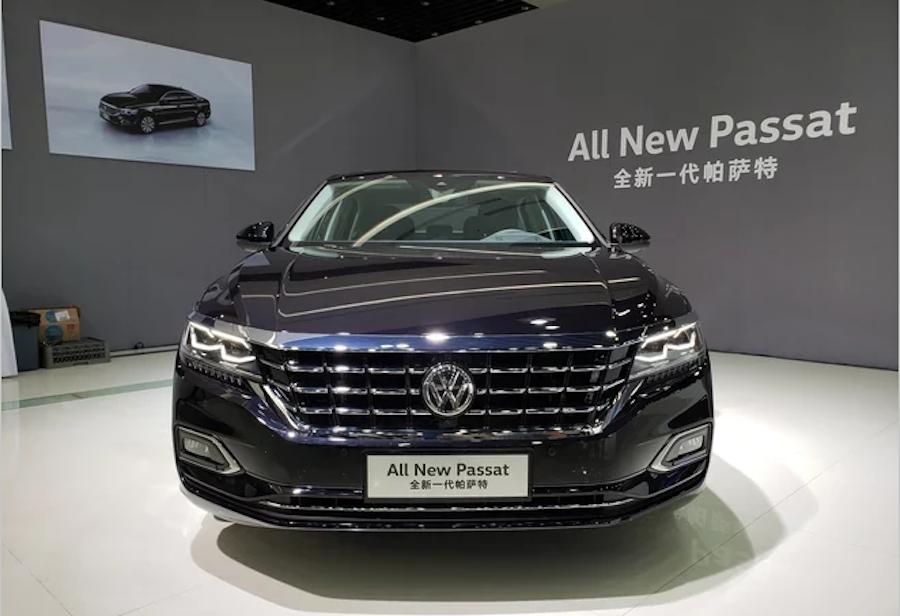 全新一代帕萨特正式亮相 推插混车型/年内上市