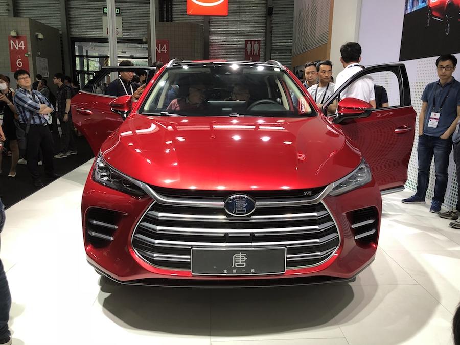 EV晚知道 | 拜腾全新概念轿车全球首发
