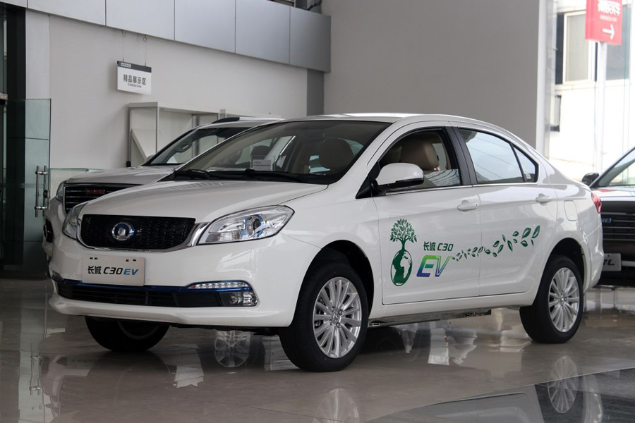 长城30EV补贴后售8.6-9万元 郑州现车热销