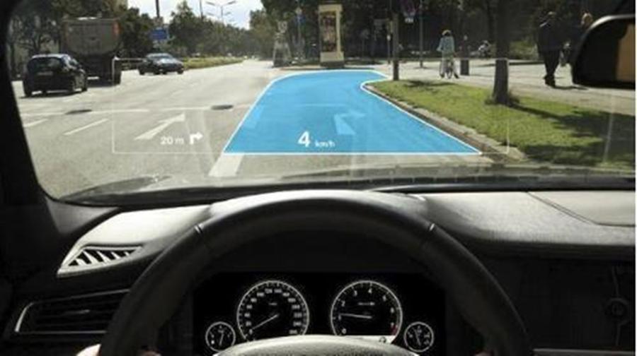 苹果申请自动驾驶新专利 挡风玻璃变AR显示屏