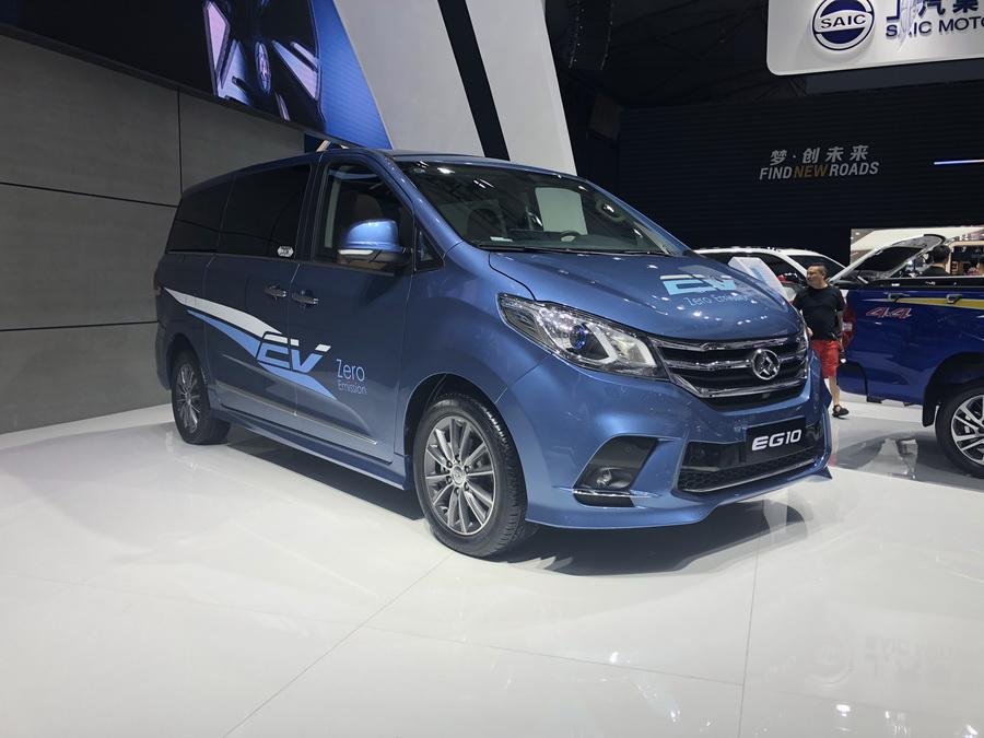 2018成都车展:全新上汽大通EG10纯电动MPV亮相