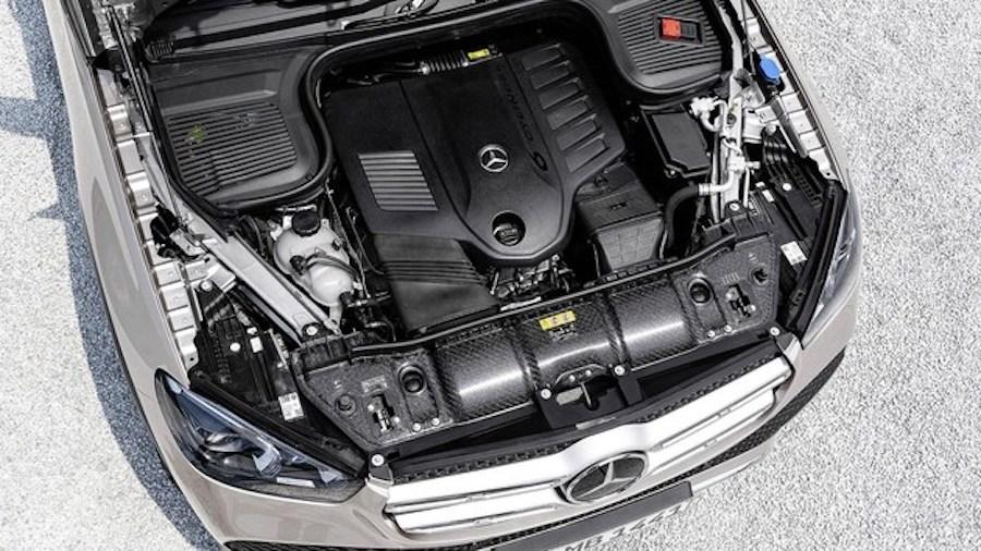 奔驰GLE搭载半自动驾驶技术/轻混系统 明年上市