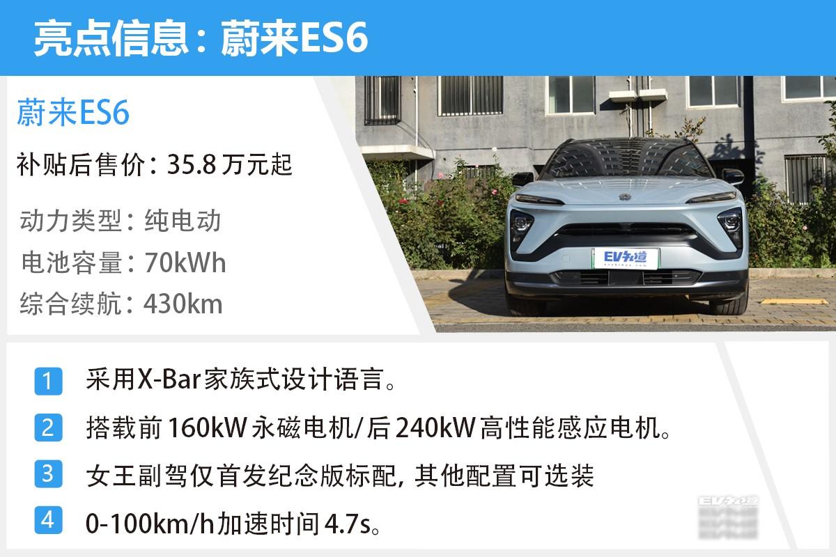 E-TEST测试2:蔚来ES6电耗测试+动态体验