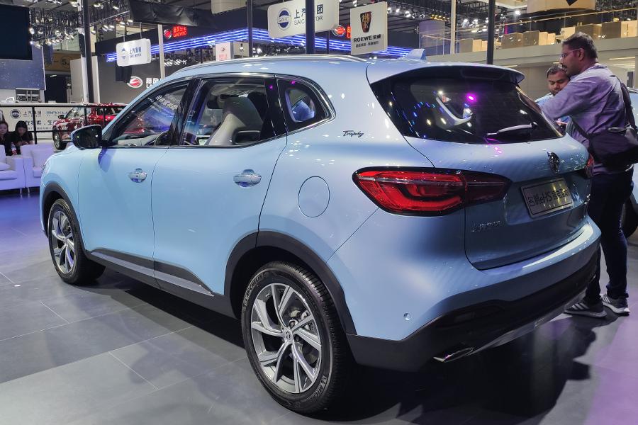 2019广州车展:名爵eHS上市 补贴后售18.98万起