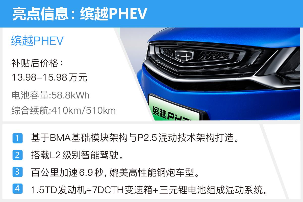 这次必须推荐顶配 吉利缤越PHEV购车手册