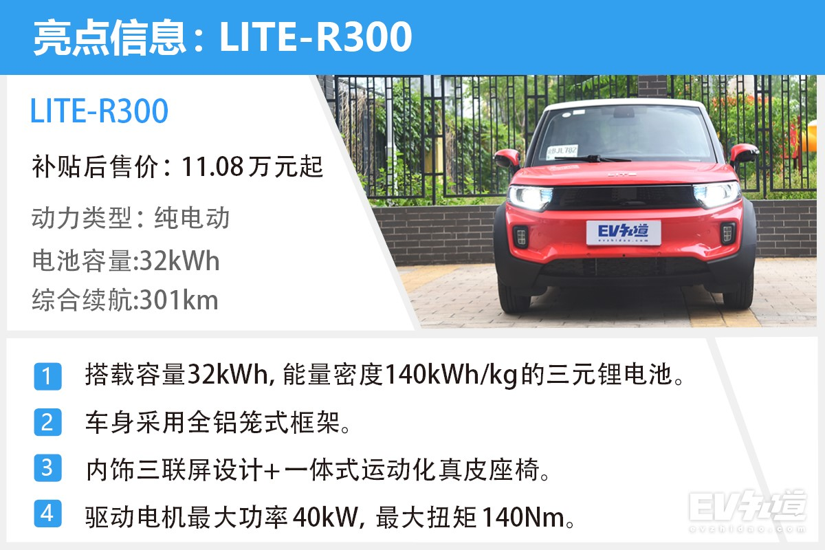 还是那个胡同妞 LITE-R300实车路测