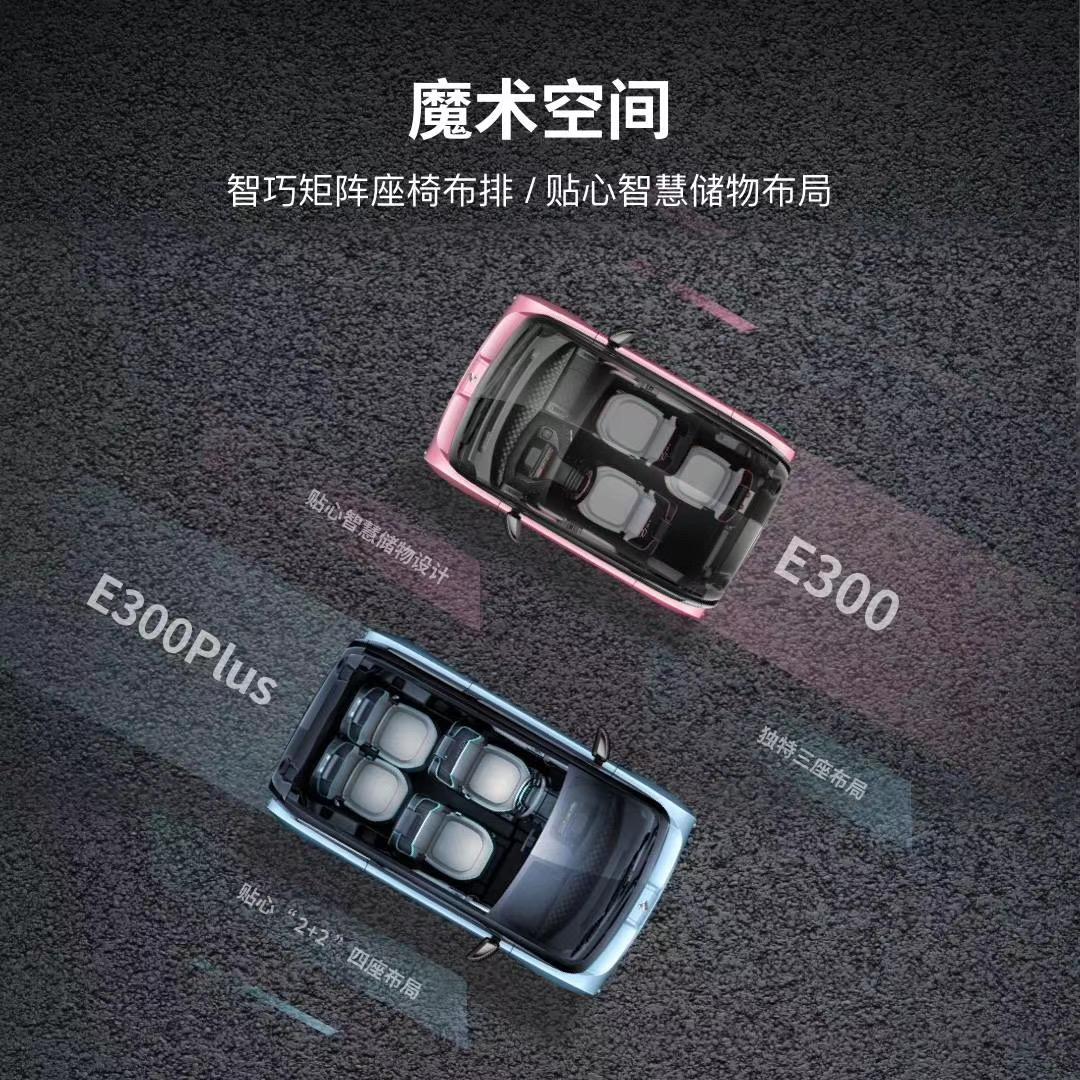 售价6.48万元~8.48万元 宝骏E300/E300Plus正式上市