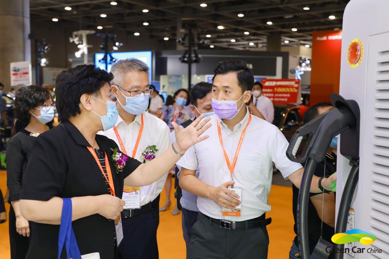 第五届广州新能源智能车展暨华南车展盛大开幕