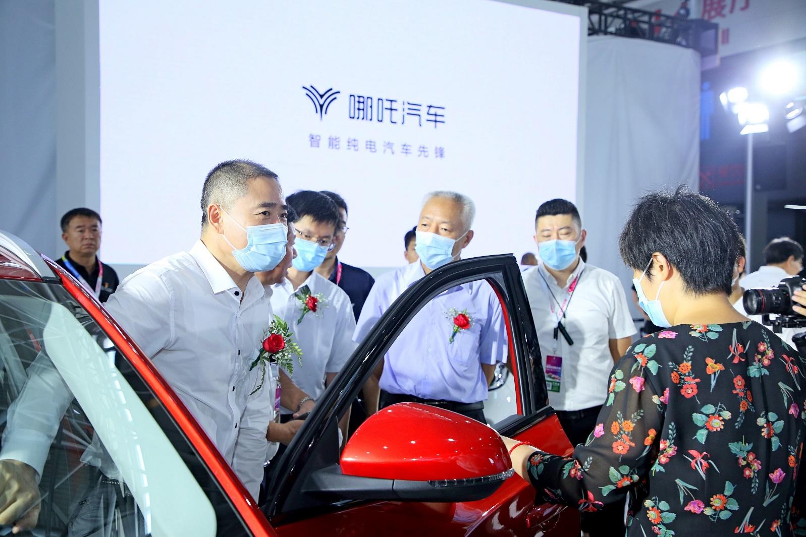"""三部委青岛启动新能源汽车下乡  哪吒N01推出""""惠民行动"""""""