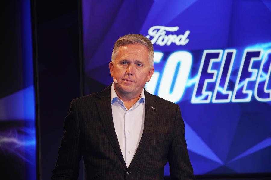 福特將使用大眾MEB平臺開發純電動汽車
