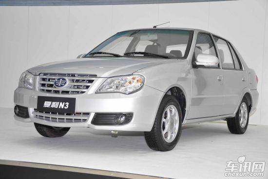 2012款夏利新N3车型-夏利新N3青岛车展上市 售价3.199万元起高清图片