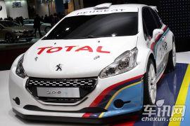 标致-标致208 R5拉力赛车