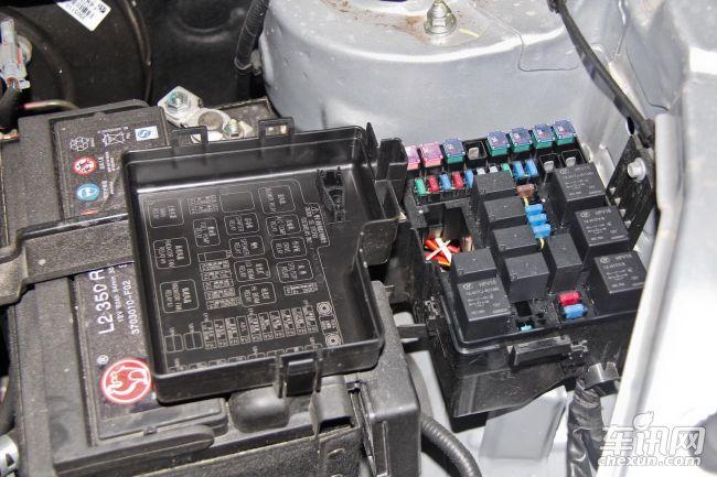 翼搏保险盒内有标示 但并不明确   编辑小聊:2008保险盒内没有任何标示,翼搏虽然有图注,但并没有写清对应的功能。相对来说,创酷和CS35相对较为优秀。