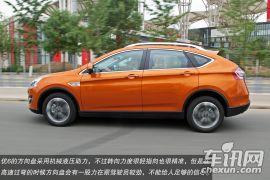 运动与舒适兼顾 车讯网试驾纳智捷优6 SUV