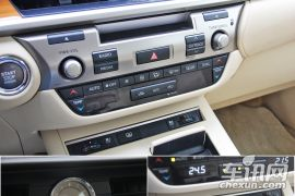 舒适感融入细节之中 试驾雷克萨斯ES250
