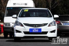 北京现代-瑞纳-三厢 1.4L 自动时尚型GS