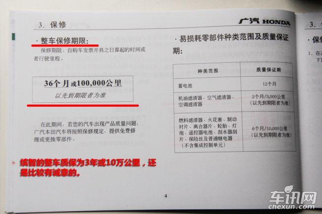 拆车坊解析广汽本田缤智12万公里保养成本