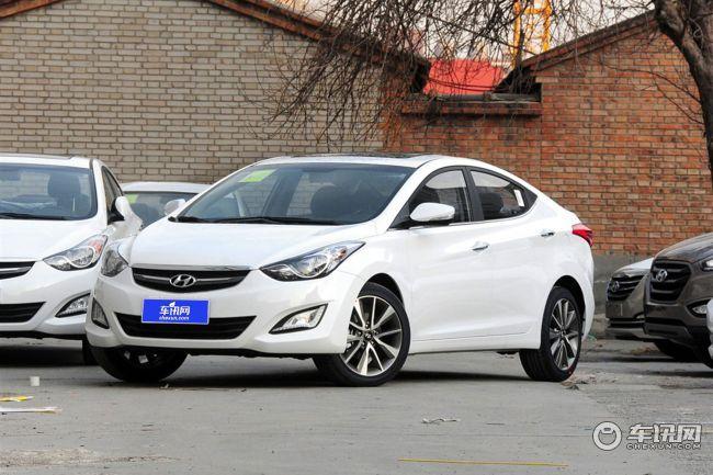 北京现代朗动购车享优惠1万元现车销售