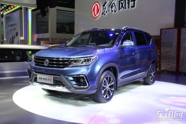 东风风行景逸X7定位中型SUV 将10月发布高清图片