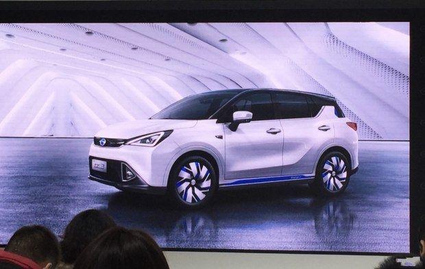 广汽传祺GE3电动车 基于新能源平台打造