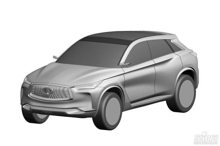传统手绘汽车造型图
