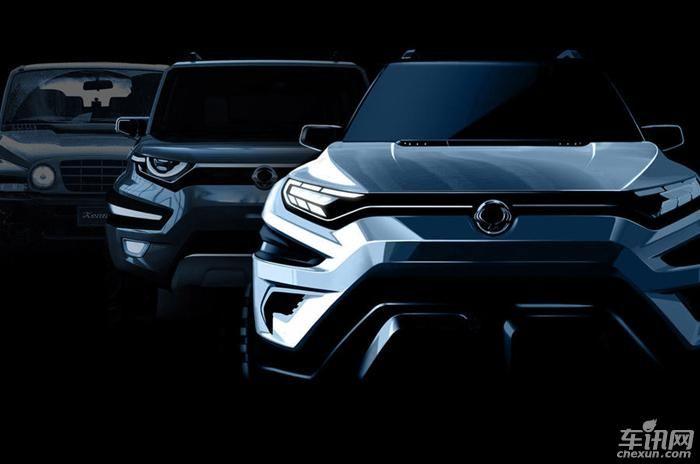 双龙XAVL概念车官图发布 日内瓦车展上亮相