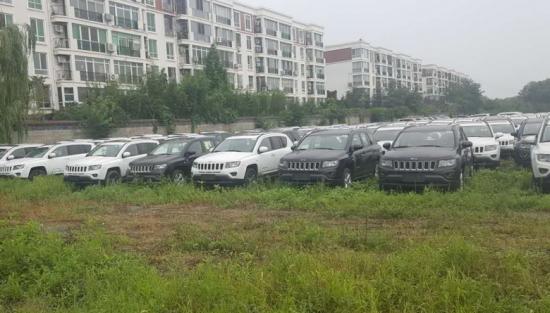 jeep指南者天津港爆炸粉尘车价格四驱版价