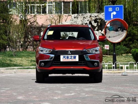 一台好开的SUV 新款三菱劲炫ASX降价销售高清图片