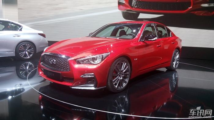 新款Q50 S亮相日内瓦车展 搭载3.0T动力