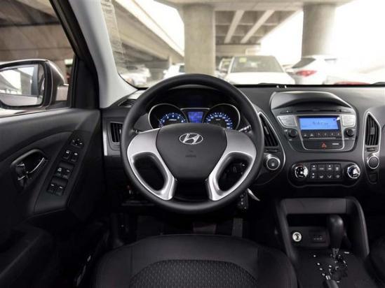 现代4S店现代ix35 现车最新报价优惠多少钱