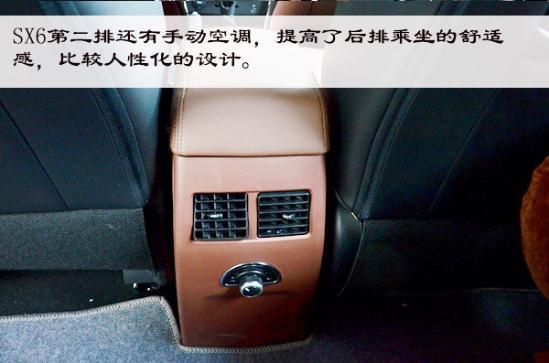 稳重实用·7座SUV 实拍东风风行SX6-图13