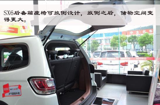稳重实用·7座SUV 实拍东风风行SX6-图19