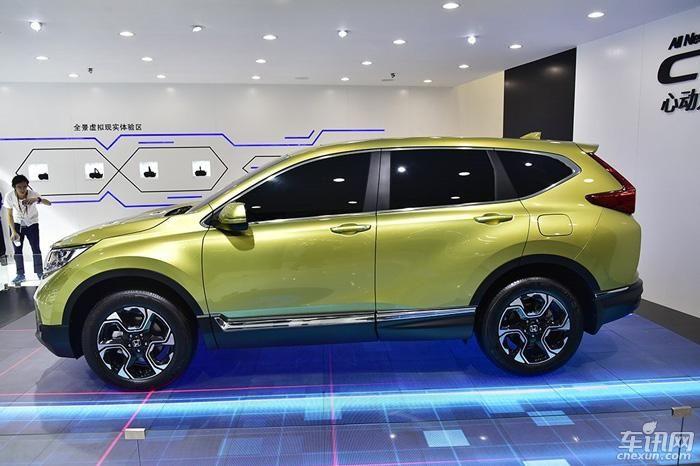 2017上海车展:全新东风本田CR-V正式亮相