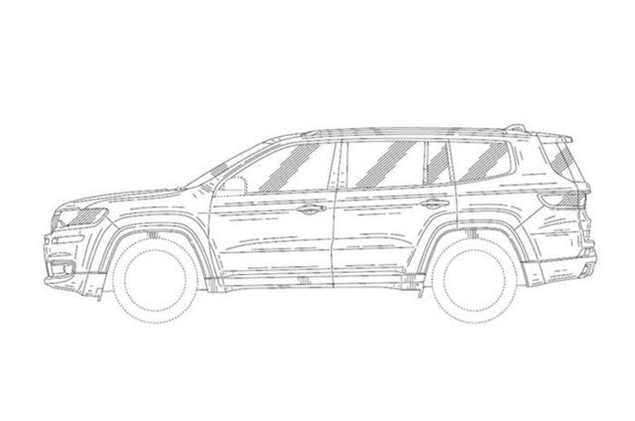 jeep全新7座suv曝光 或为云图概念车量产版