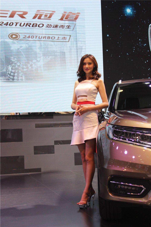 2017第十五届华中国际车展车模集锦图片