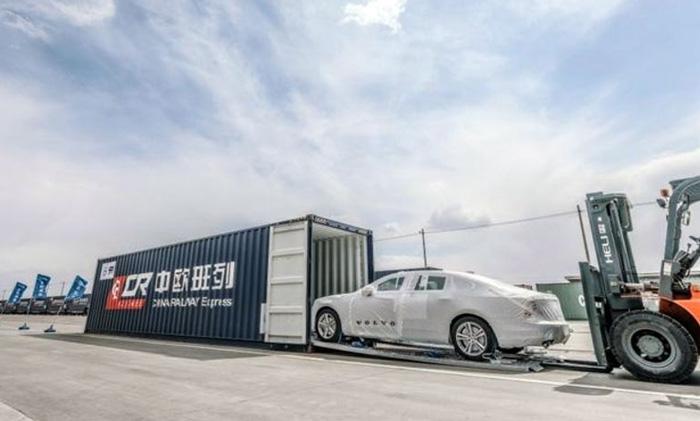 沃尔沃S90出口比利时 中国造打入欧洲市场