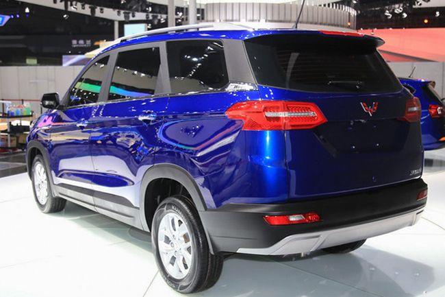 五菱宏光首款SUV将于7月上市 搭1.5L发动机