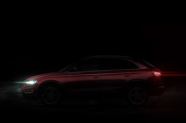 新款众泰SR7预告图曝光 更换全新样式LOGO