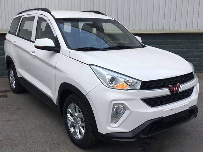 五菱宏光S3车型申报图曝光 或下半年上市