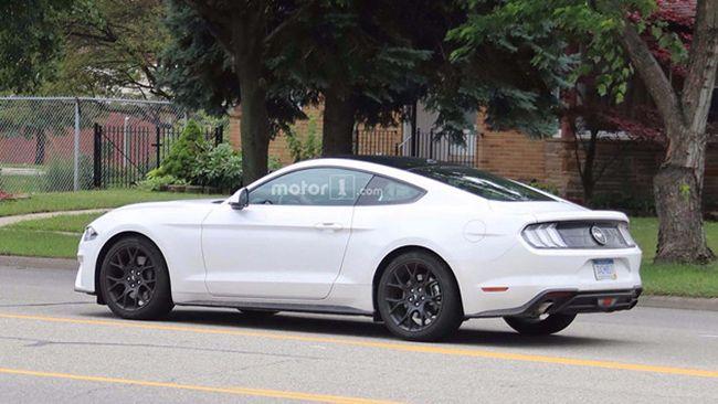 全新福特Mustang谍照曝光 未来或引入国内