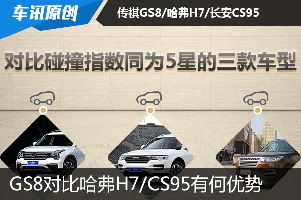 GS8获C-NCAP五星评价 对比竞品有何优势