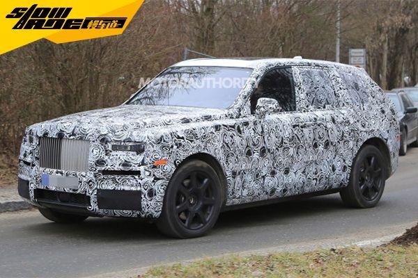 劳斯莱斯将推全新SUV 或命名为Cullinan