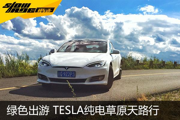 享受绿色环保出游 Tesla纯电草原天路行