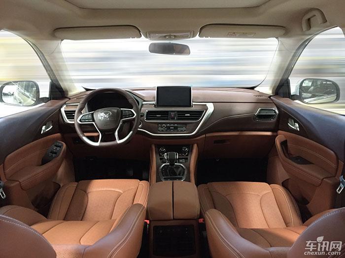 北汽幻速S7成都车展首发 将于第四季度上市