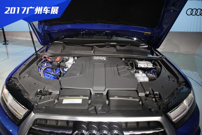 2017广州车展 奥迪Q7南方专享版新车图解