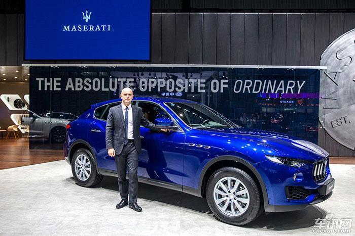 玛莎拉蒂Levante经典版给广州车展隆重上市