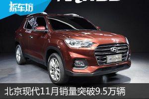 价格战的回血 北京现代11月销量突破9.5万辆