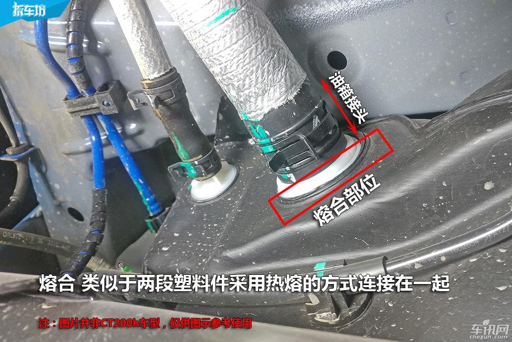 【拆服务】1200辆CT200h或有汽油泄漏风险