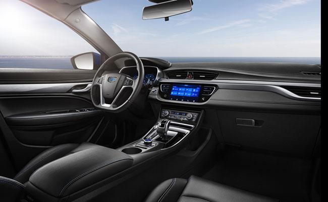 全新帝豪EV450官图发布 续航里程再次提升