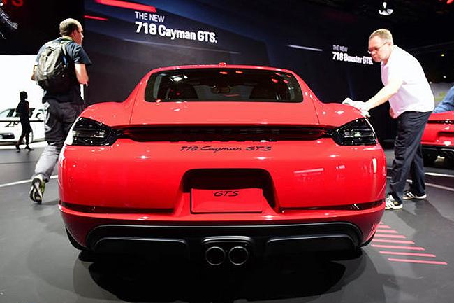 保时捷718 Cayman GTS或将北京车展开启预售